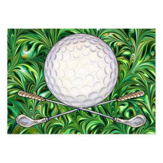 Tarjeta de visita del golf - SRF