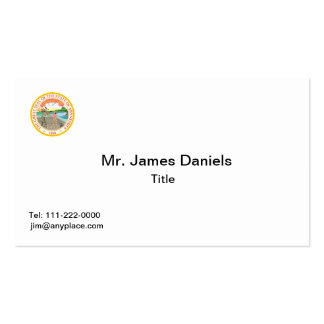 Tarjeta de visita del gran sello de Minnesota