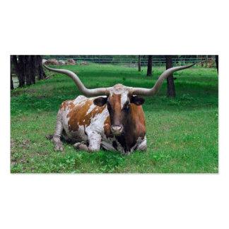 Tarjeta de visita del granjero del ranchero del ga