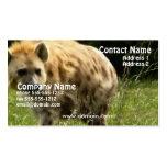 Tarjeta de visita del Hyena