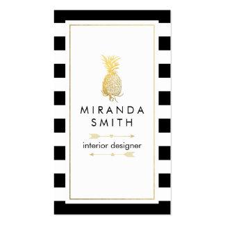 Tarjeta de visita del interiorista - moda
