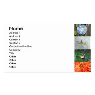 tarjeta de visita del jardín…