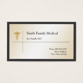 Tarjeta de visita del médico