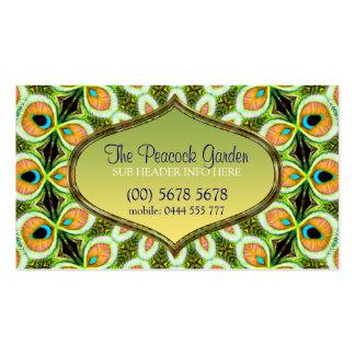 Tarjeta de visita del modelo de la mandala del pav