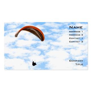 Tarjeta de visita del Paragliding