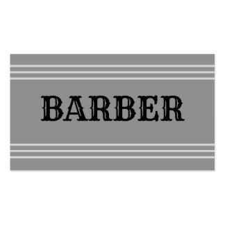 Tarjeta de visita del peluquero