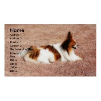 Tarjeta de visita del perro #1