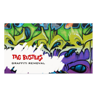 Tarjeta de visita del retiro de Graffitit
