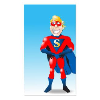 Tarjeta de visita del superhéroe Shell
