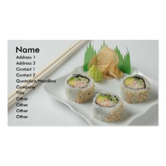tarjeta de visita del sushi 2