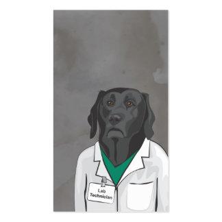 Tarjeta de visita del técnico de laboratorio