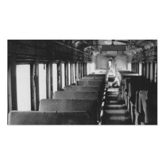 Tarjeta de visita del tren