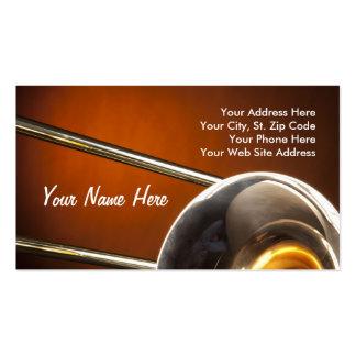 Tarjeta de visita del Trombone