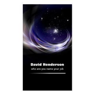 tarjeta de visita del universo