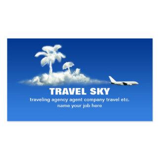 tarjeta de visita del viaje