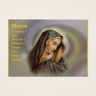 Tarjeta de visita del Virgen María 2