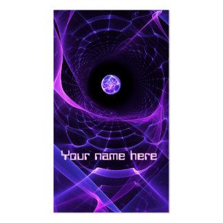 Tarjeta de visita del Wormhole