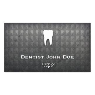 tarjeta de visita dental de la oficina del dentist