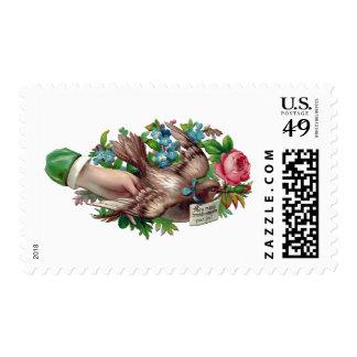 Tarjeta de visita disponible del Victorian del Timbres Postales