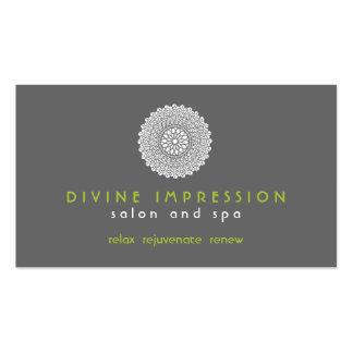 Tarjeta de visita divina de la impresión
