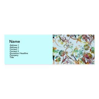 Tarjeta de visita elegante Design2 flaca, 3 x 1inc