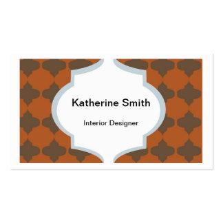Tarjeta de visita elegante, Katherine