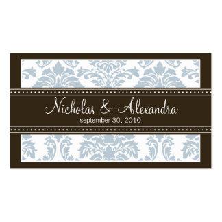 Tarjeta de visita encantadora del Web del boda del