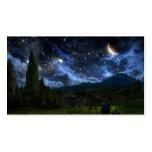 Tarjeta de visita estrellada de Night_standard