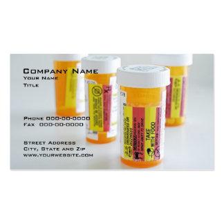 Tarjeta de visita farmacéutica