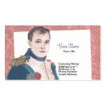 Tarjeta de visita francesa de Napoleon Bonaparte
