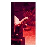 Tarjeta de visita gótica II del Gargoyle del vampi