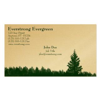 Tarjeta de visita imperecedera de Everstrong