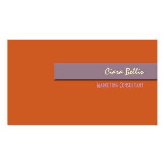 Tarjeta de visita, intrépida {fondo adaptable} tarjetas de visita