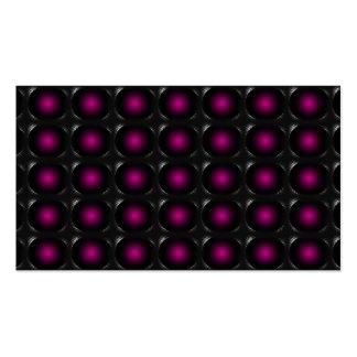 Tarjeta de visita inusual de la ilusión 3D de la m