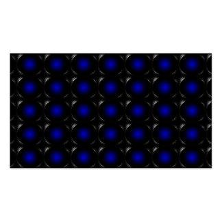 tarjeta de visita inusual de la ilusión Azul-púrpu