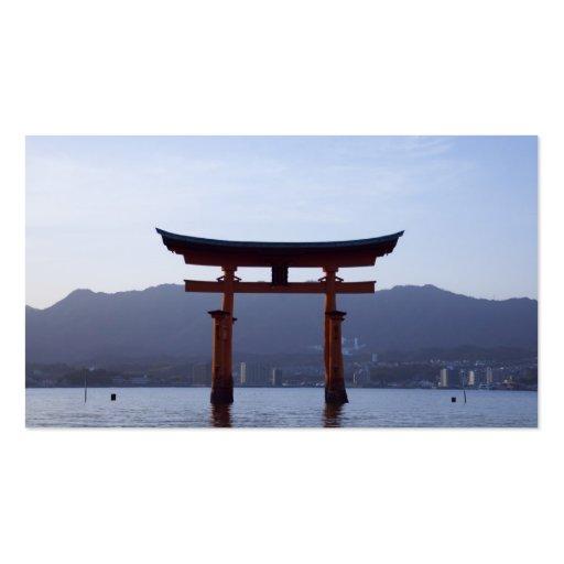 Tarjeta de visita japonesa