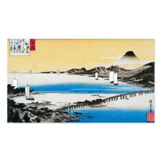 Tarjeta de visita JAPONESA del BARCO