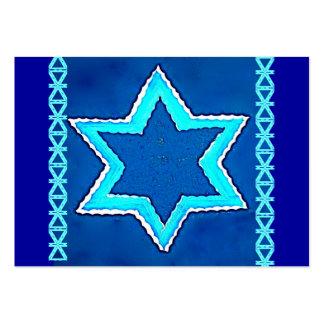 Tarjeta de visita judía 2