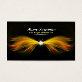 tarjeta de visita ligera del milagro