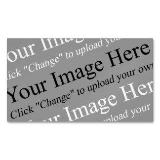 Tarjeta de visita magnética del logotipo de tarjetas de visita magnéticas (paquete de 25)