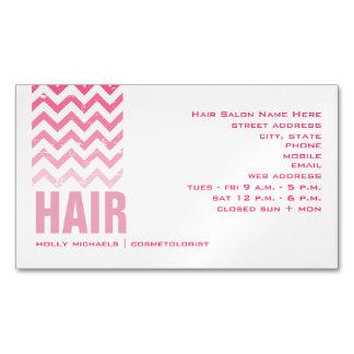 Tarjeta de visita magnética del salón de pelo de tarjetas de visita magnéticas (paquete de 25)