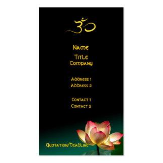 Tarjeta de visita, manos curativas tarjetas de visita