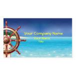 Tarjeta de visita marina de la tarjeta de visita q