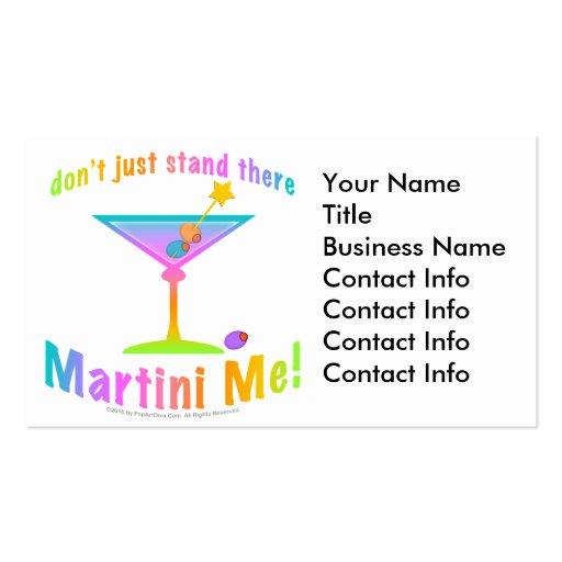 ¡Tarjeta de visita - MARTINI YO!