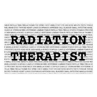 Tarjeta de visita médica de las palabras del terap