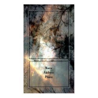 Tarjeta de visita mística