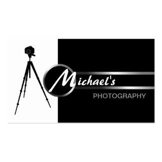Tarjeta de visita moderna del fotógrafo