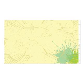 tarjeta de visita normal