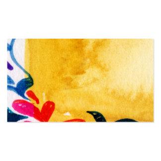 tarjeta de visita normal del hogar y del jardín