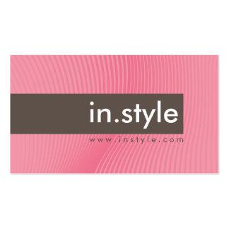 TARJETA DE VISITA:: oscilación moderna de moda L10 Tarjetas De Visita